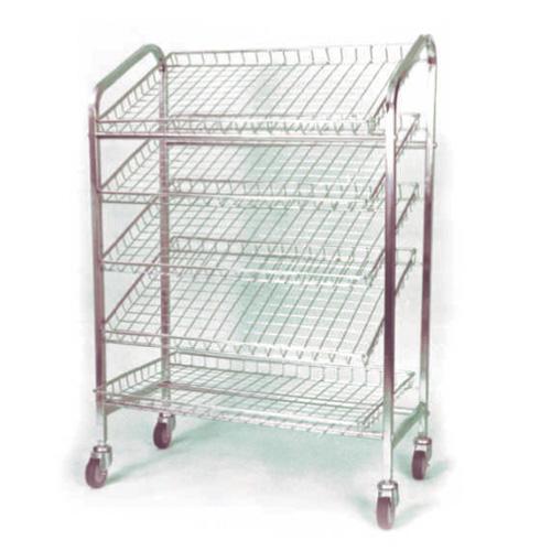 5 Tier Chromed Bread Trolleys 187 Mr Shelf Shelving Amp Racking