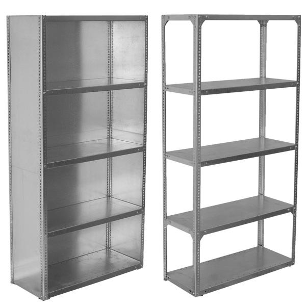 Galvanised shelving imperial steel shelves mr shelf for Cheap kitchen cabinets gauteng