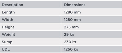 Low-Profile-Spill-Pallet-for-4-x-205-ltr-drums---BP4L