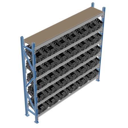 Bin Display Racking System